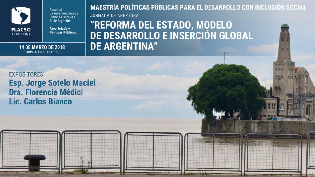 Jornada Apertura IX Cohorte Maestría Políticas Públicas