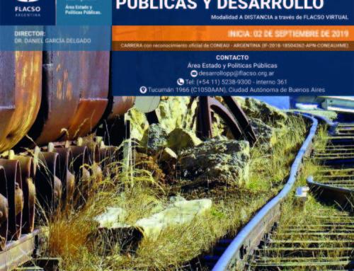 Maestría en Políticas Públicas y Desarrollo  grabación de la reunión informativa
