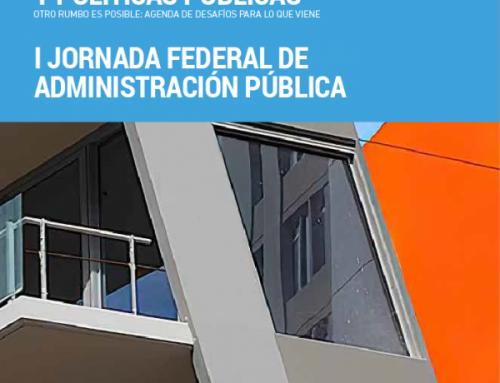 Estado, políticas públicas y federalismo