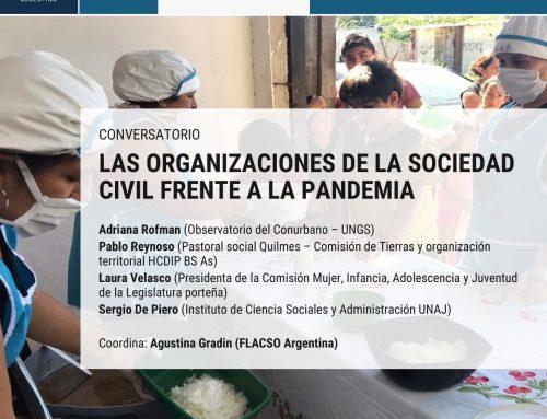 """Conversatorio """"Las Organizaciones de la sociedad civil frente a la pandemia"""""""