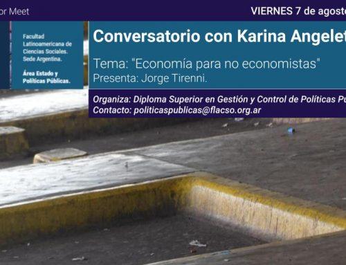 Conversatorio con Karina Angeletti